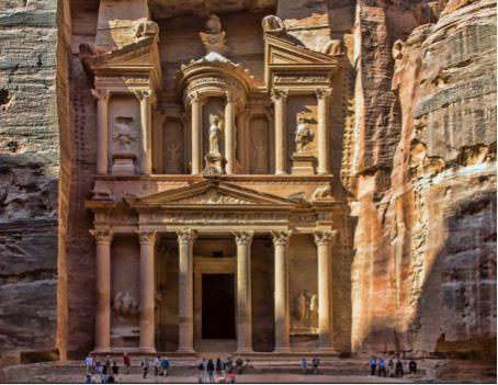 Petra-in-Joardianien-historischeArchitektur-01